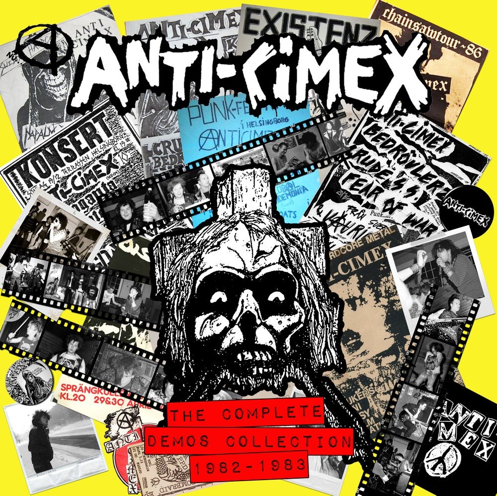 "Image of ANTI CIMEX ""The Complete Demos Collection 1982-1982"" LP"