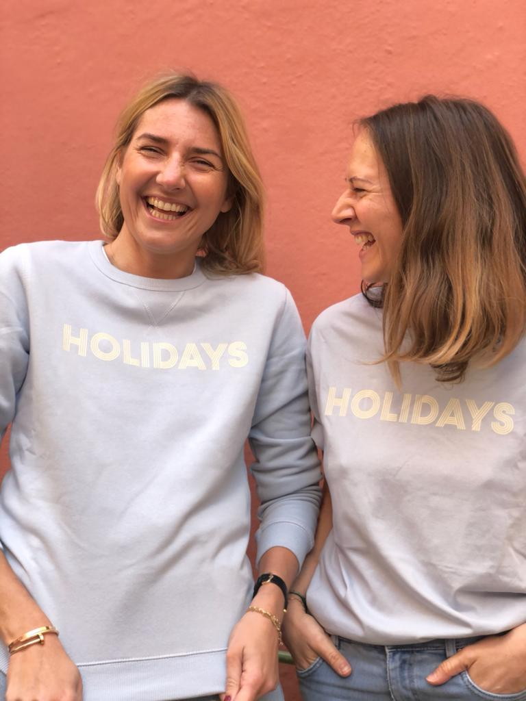 Image of Tee-shirt Holidays - lisette
