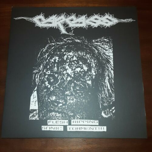 "Image of CARCASS ""Flesh Ripping Sonic Torment"" LP"