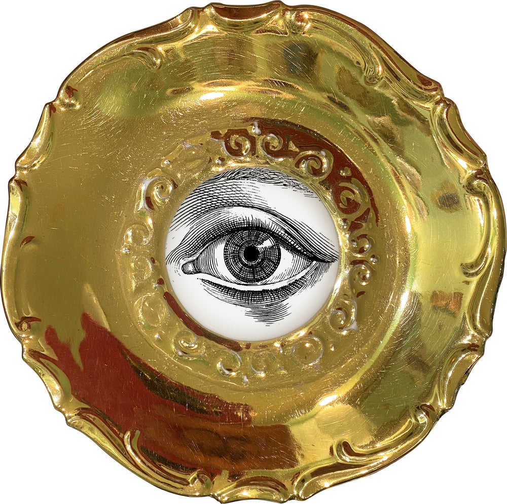 Image of Lover's eye D - #0752 - GOLD DELUXE EDITION