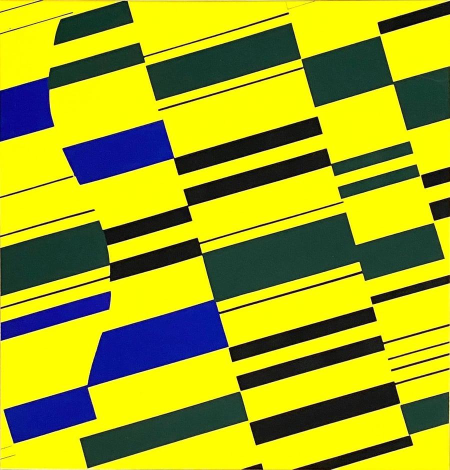 Image of Günter Fruhtrunk, Blaue Partikel, 1971