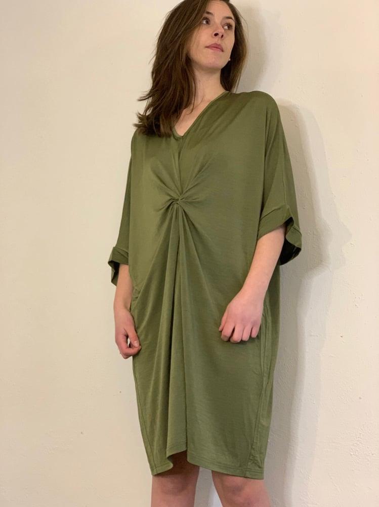 Image of One size kjole i grøn