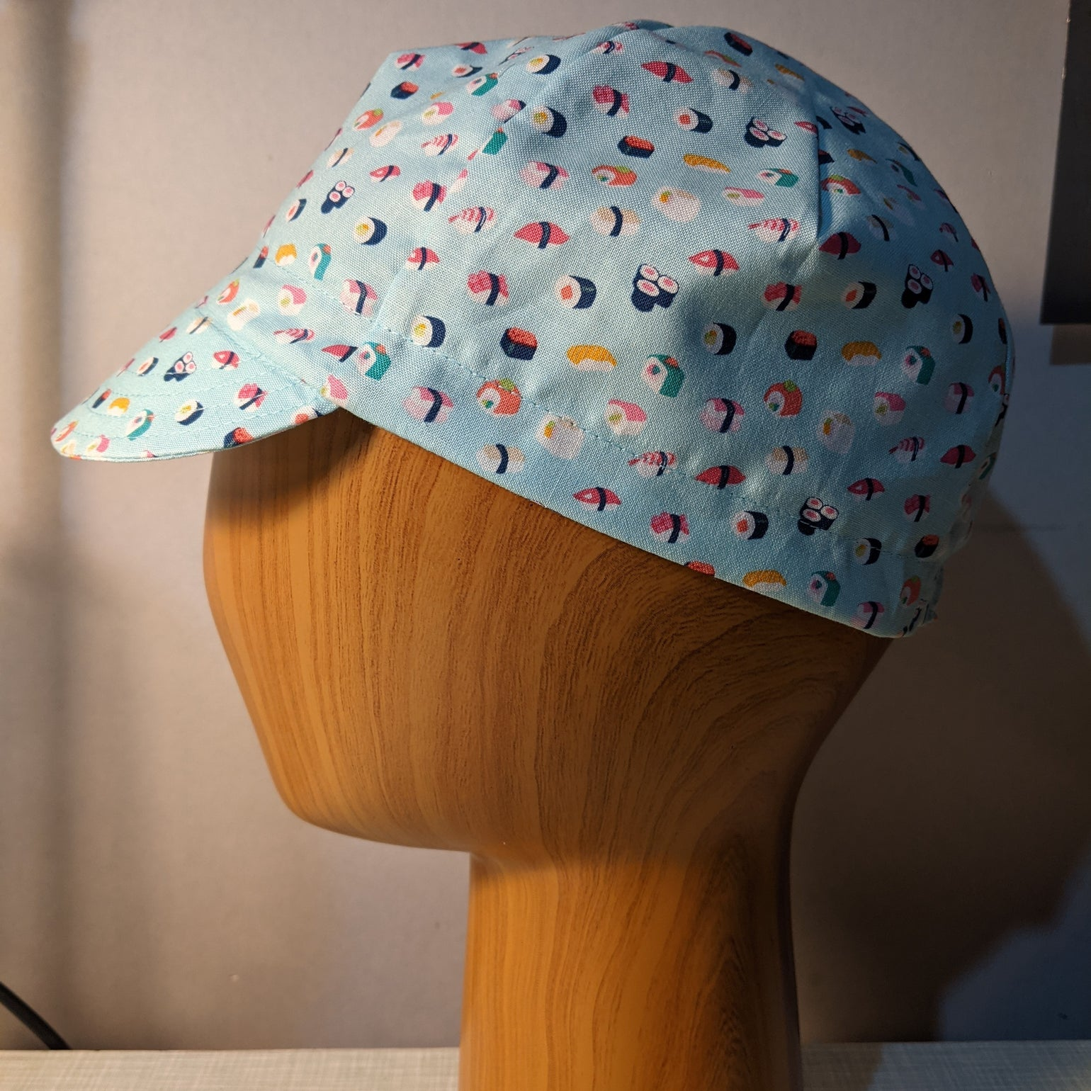 Image of Cotton cycling cap - small sushi