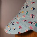 Image 3 of Cotton cycling cap - small sushi