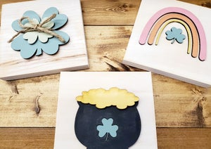 Image of St. Patty's Day Inspired Mini Signs