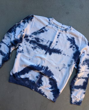 Image of Blue and White Sweatshirt (Ready to Ship)