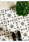 Alora Stencil for Floors- Wall, Furniture and Fabric Stencil - Moroccan Stencil - DIY Floor Project.