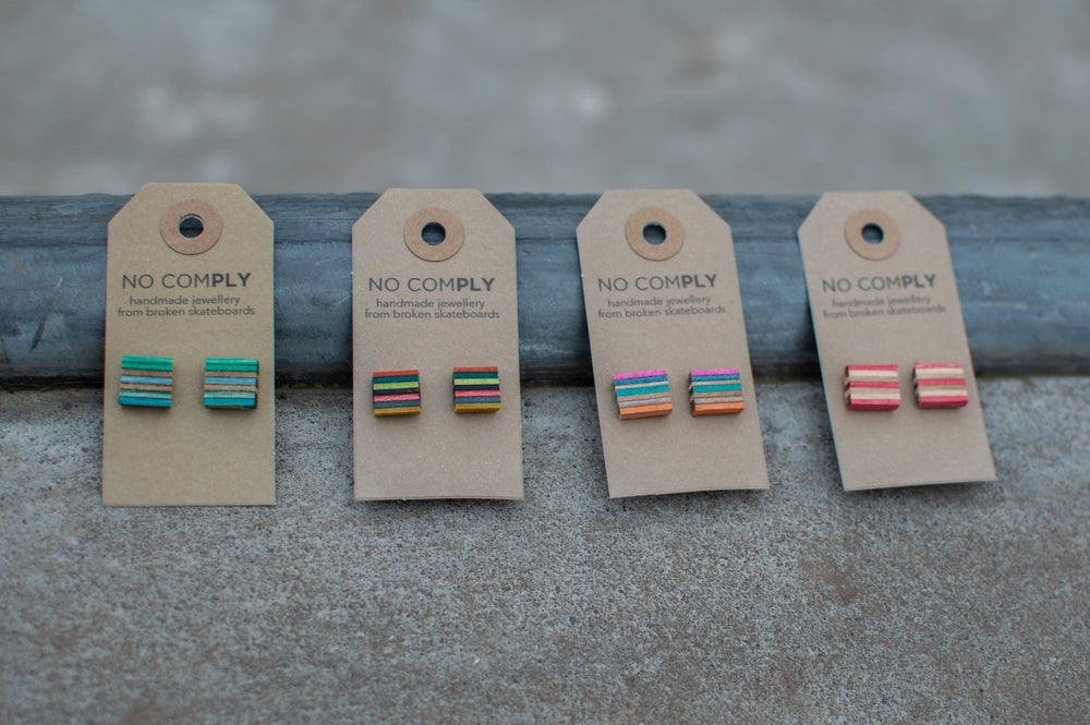 Image of Square Studs