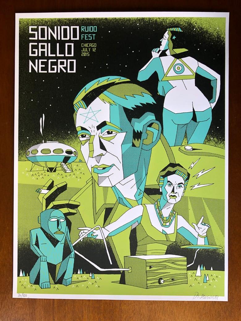 Image of SONIDO GALLO NEGRO x Jorge Alderete