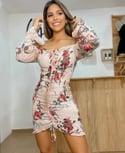 Yvette Flower Dress