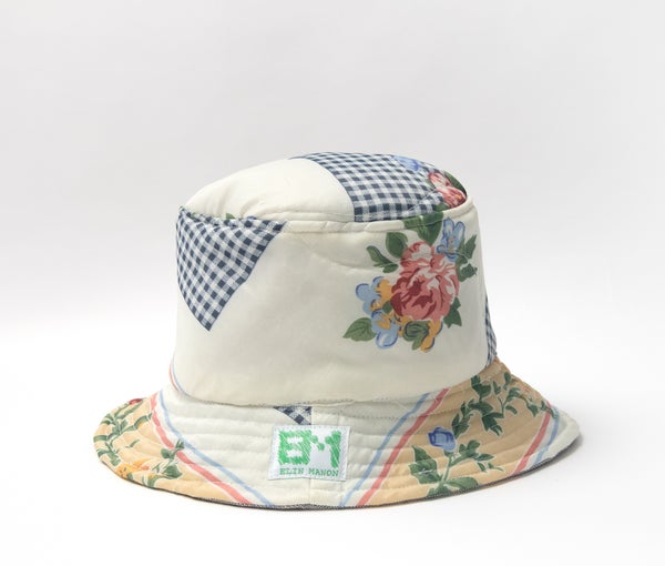 Image of Patchwork Blanket Bucket Hat