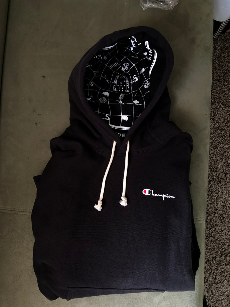 Image of 1/1 Large Champion Reverse Weave Pullover Hoody
