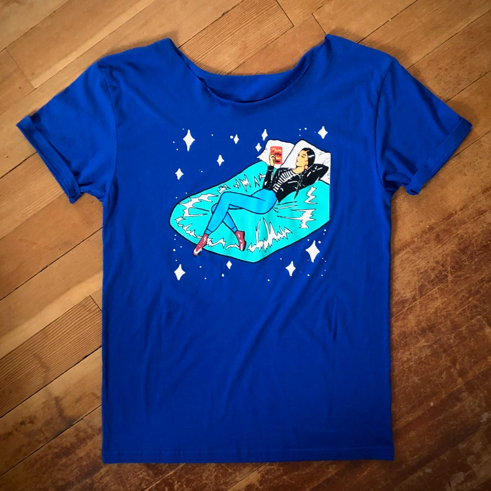 Image of To Travel Swoop Tee
