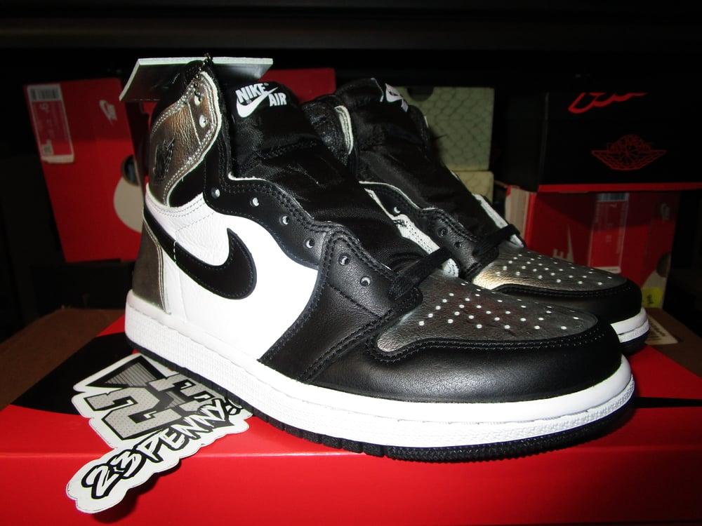 "Image of Air Jordan I (1) Retro High OG ""Silver Toe"" WMNS"
