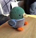 Crochet Stuffed Toy Duck
