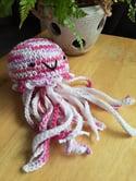 Stuffed Crochet Jellyfish Toy