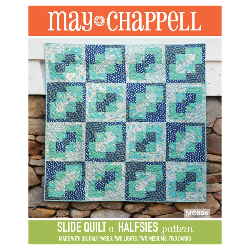 Image of Halfsies Slide Quilt Pattern