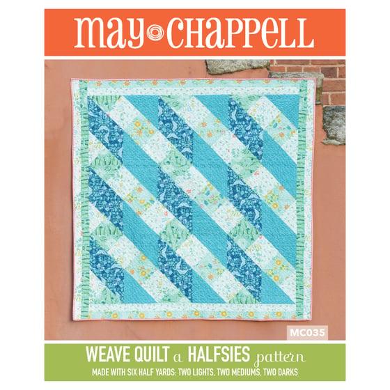 Image of Halfsies Weave Quilt Pattern