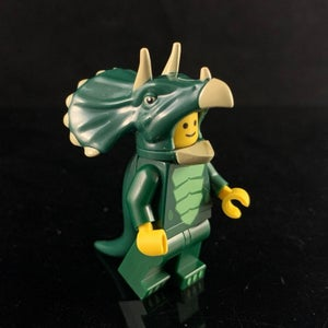 Image of DARK GREEN EDITION TRICERATOPS - Dino Dudes