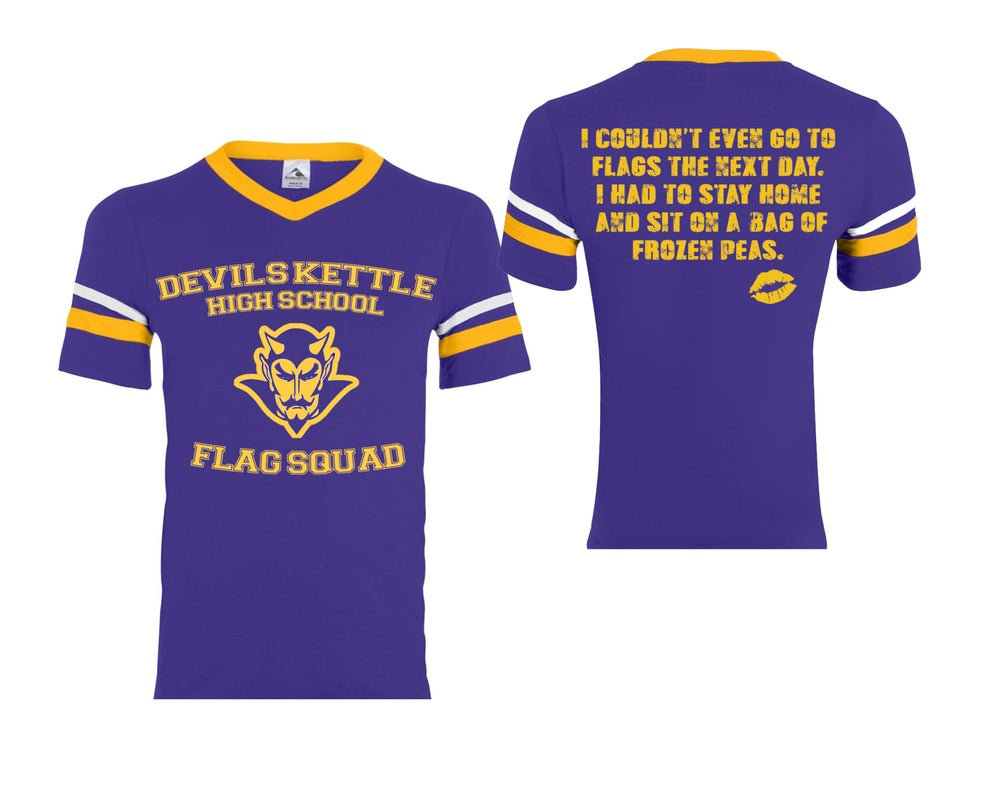 Image of Devils Kettle Flag Squad Shirt PRE ORDER