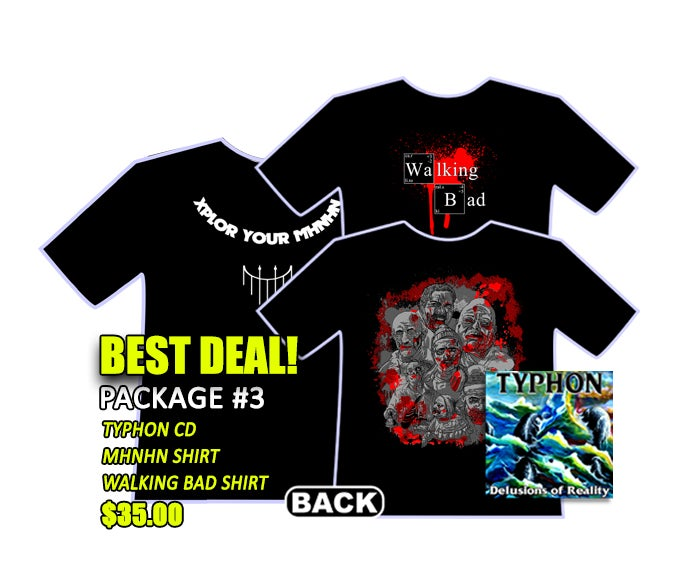 Image of Typhon CD + 2 shirts! BEST DEAL~!