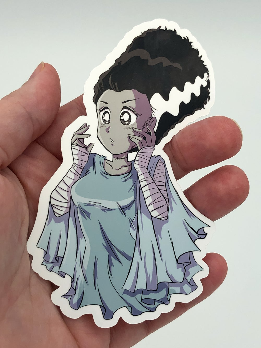 Bride of Frankenstein  STICKER