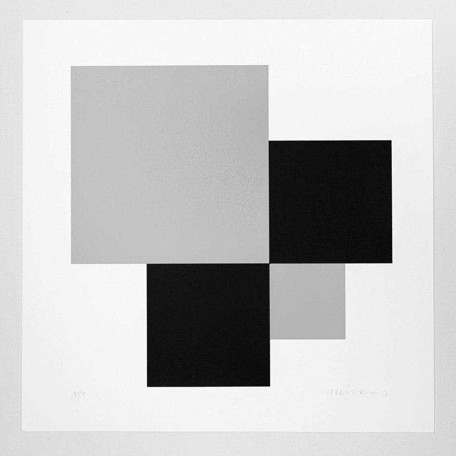 Image of JO NIEMEYER, UNTITLED, IV / X, grey / black