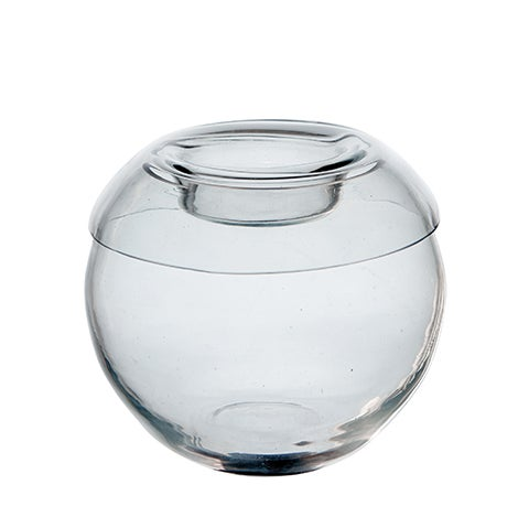 Image of GLASS CANDLE HOLDER
