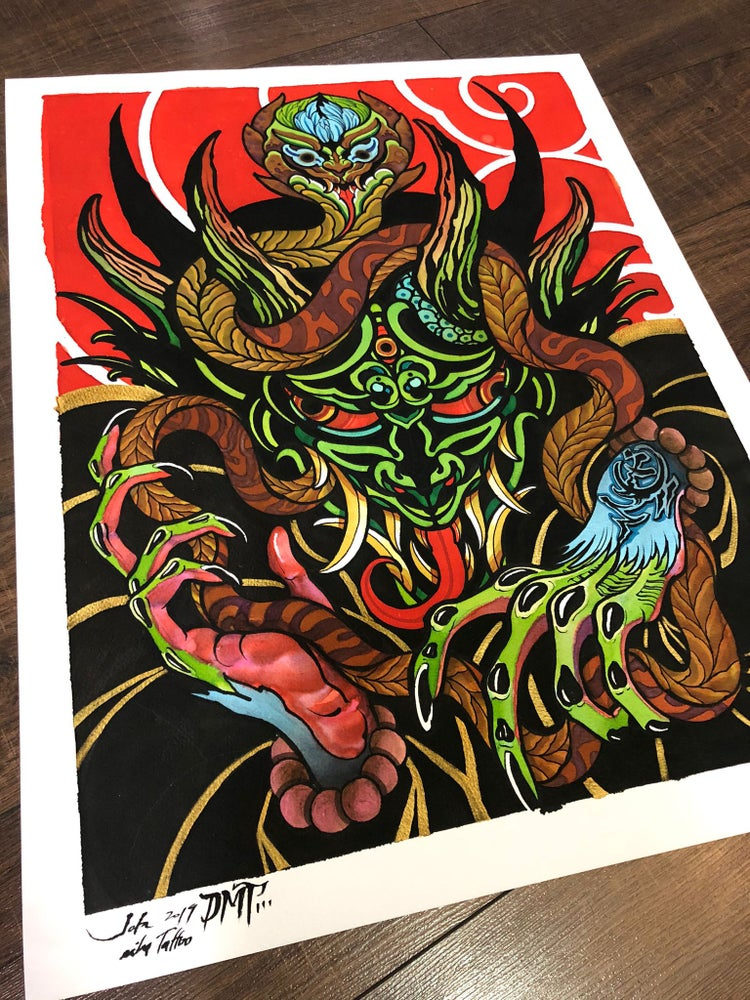 Image of DMT print by Jota