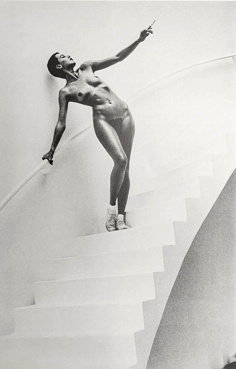 Image of Helmut Newton, In my studio, Paris, 1978