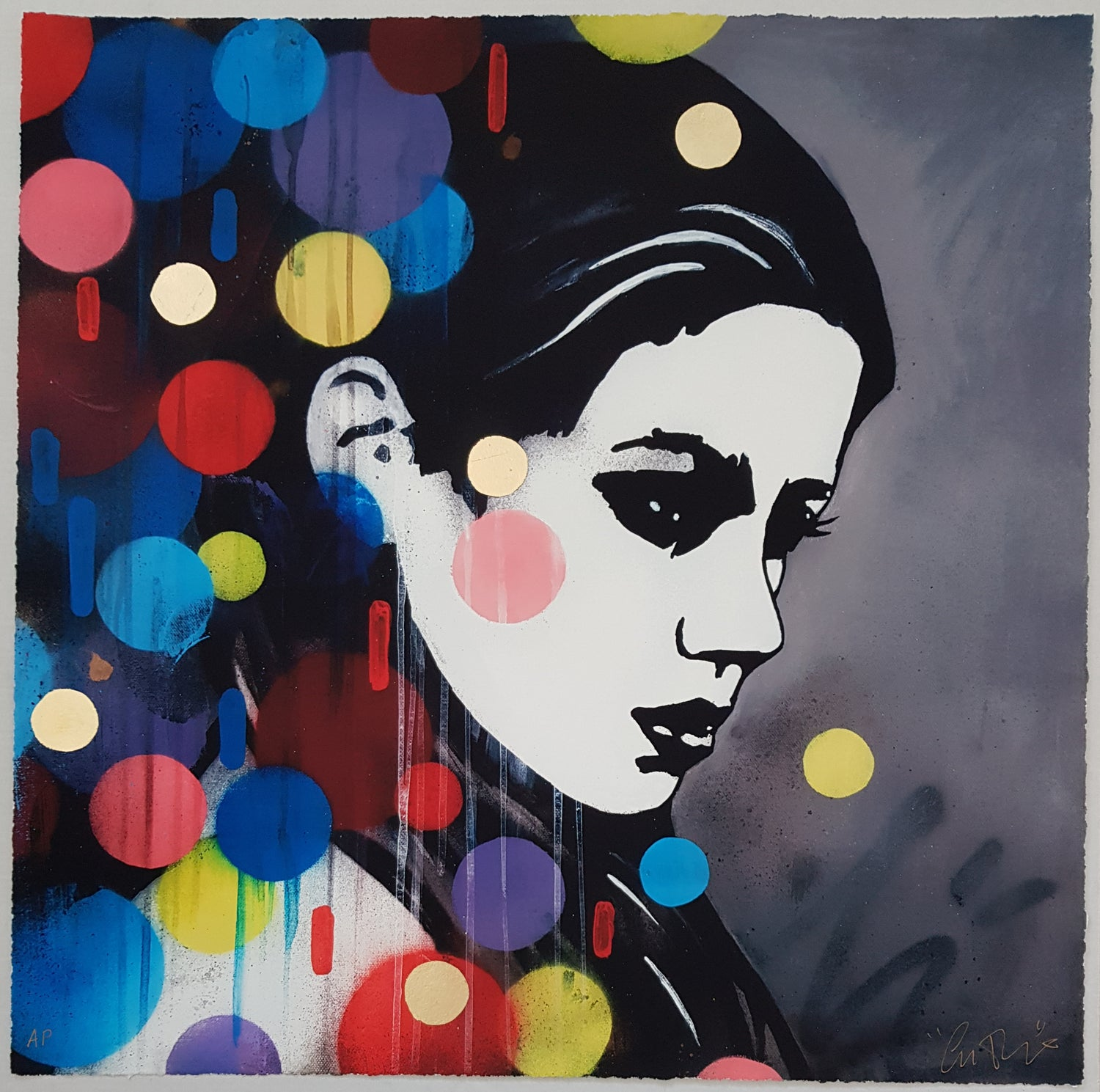 """Image of COPYRIGHT """"DAYDREAMER"""" - HAND FINISHED ARTIST PROOF - 50CM X 50CM"""