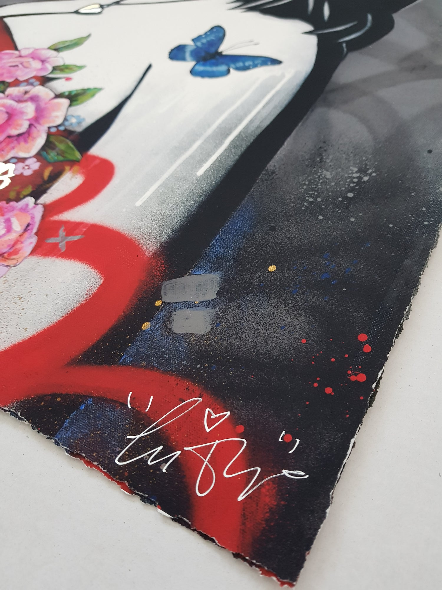 """Image of COPYRIGHT """"A CERTAIN KIND OF LOVE"""" - HAND FINISHED ARTIST PROOF - 70CM X 50CM"""