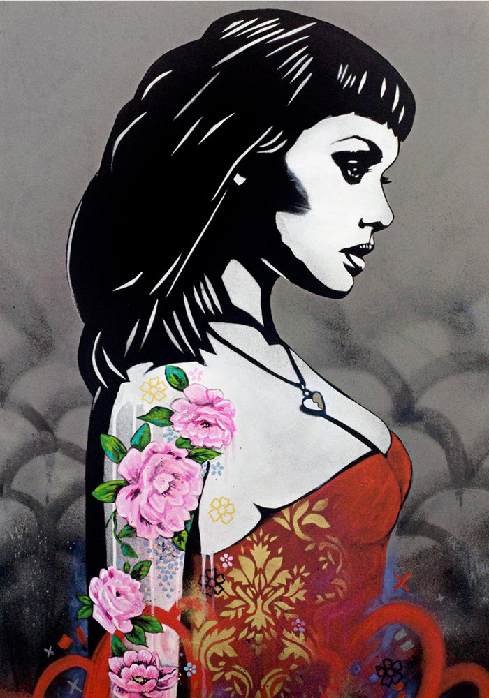 """Image of COPYRIGHT """"A DIFFERENT  KIND OF LOVE"""" - HAND FINISHED ARTIST PROOF - 70CM X 50CM"""