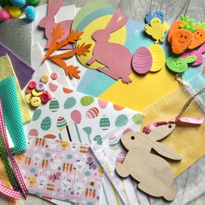 Image of Easter make your own cards & gift Children's craft box