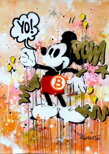Image of MICKEY POW! BITCOIN