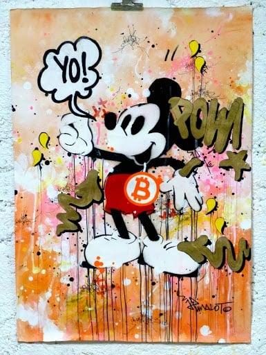 Image of MICKEY POW! BITCOIN