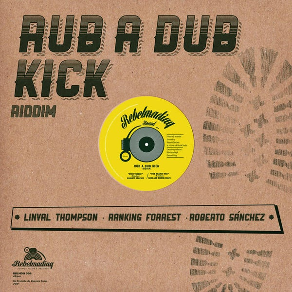 "Image of RUB A DUB KICK. 12"" VINYL"
