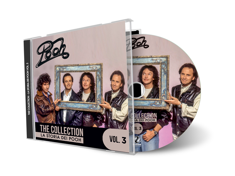 ATL1210-2 // POOH - THE COLLECTION: LA STORIA DEI POOH VOL.3 (CD COMPILATION)