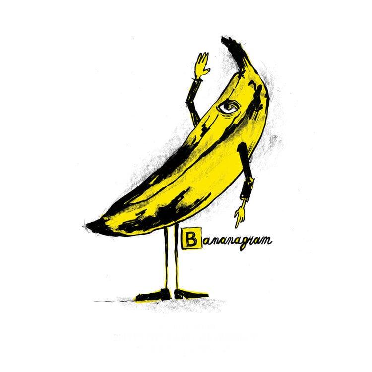 Bananagram poster