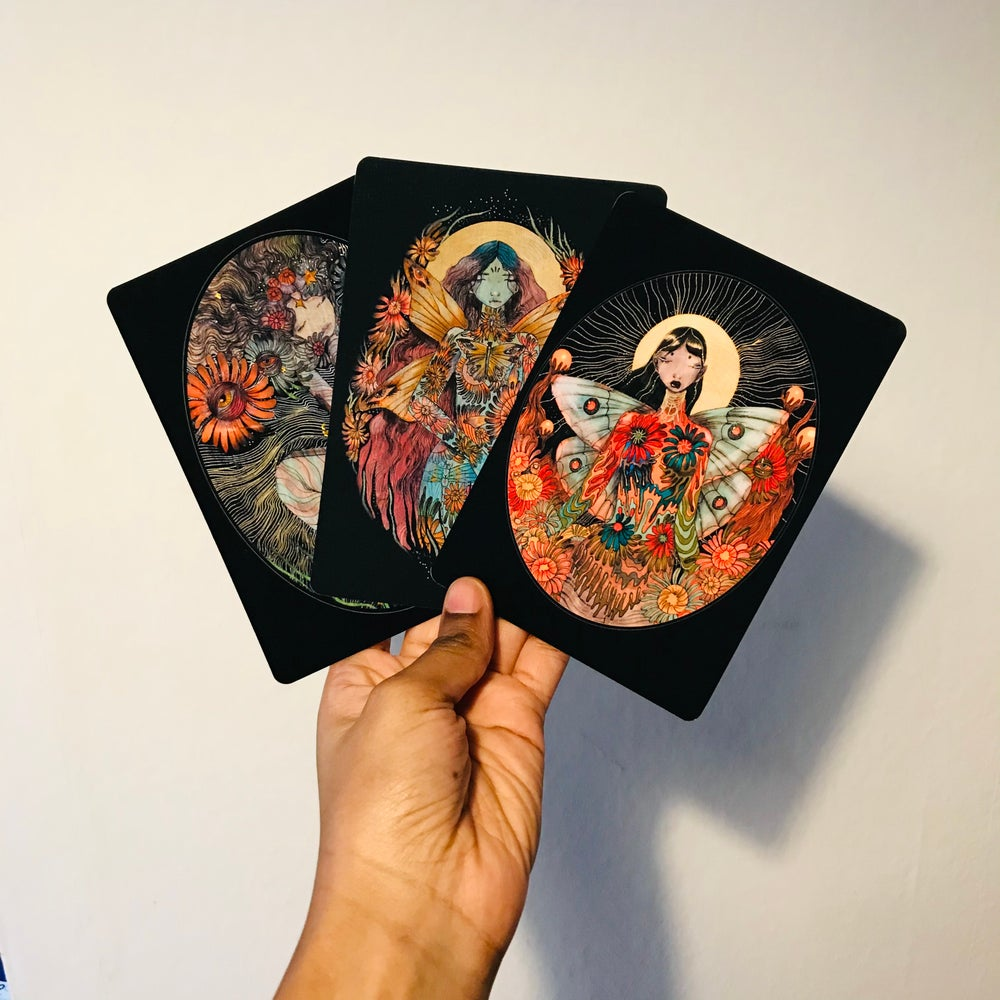 Image of Set of 3 postcards A6