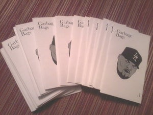 "Image of ""Garbage Bags""  Zine Issue #1"