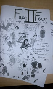 Image of Face to Face Fanzine Issue 1