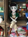 1940s style Women's Land army Rag Doll