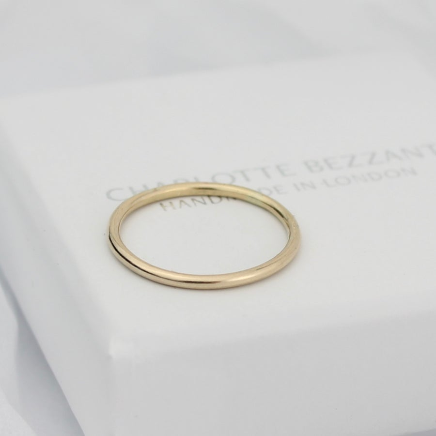 Image of Teeny gold ring