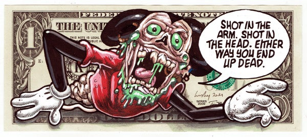 Image of Real Dollar Original. Mickey's Malaise.