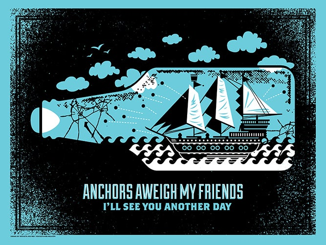Image of Anchors Away My Friends - Art Print