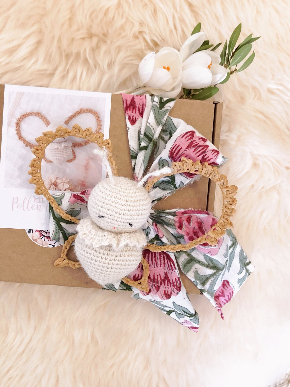 Image of Kit Crochet POLLEN LE PETIT PAPILLON