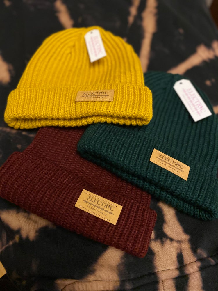 "Image of Beanie ""Electric Traditionals"""