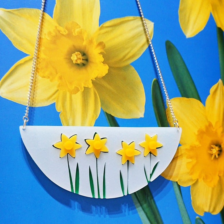 Image of Daffodil Necklace