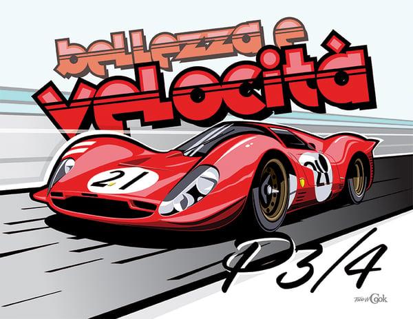 Image of Ferrari P3/4 Print